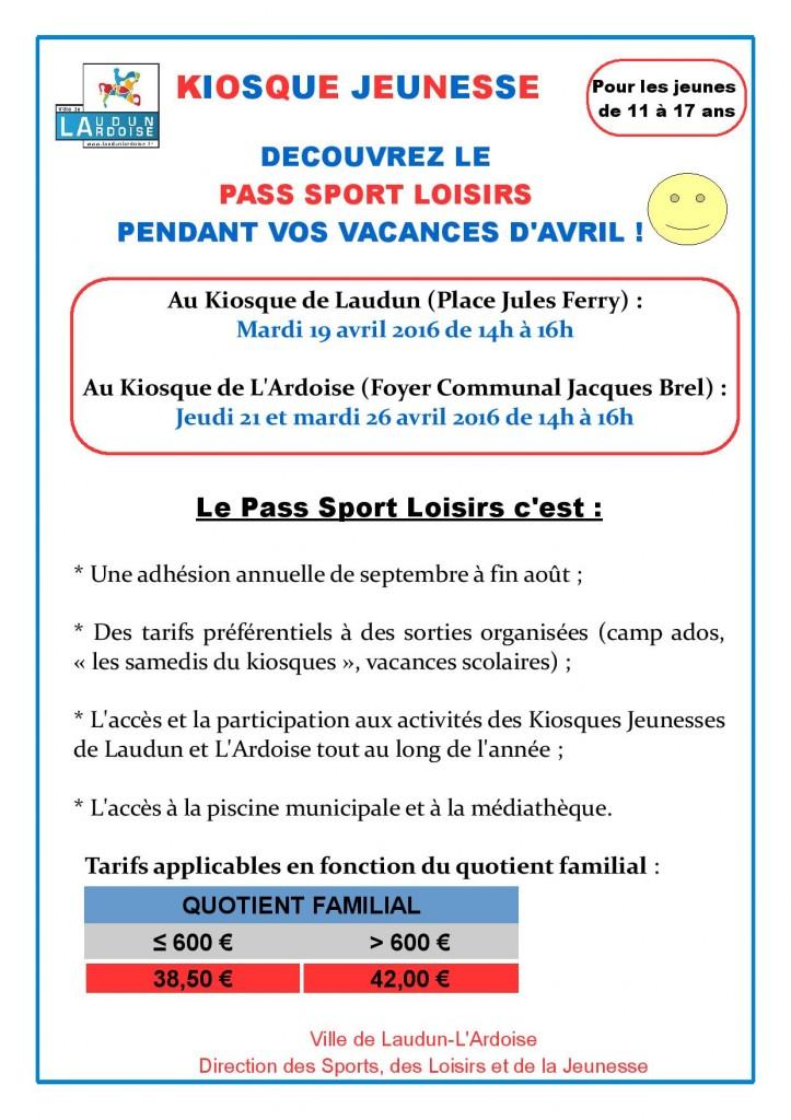 Decouverte Pass Sport Loisirs