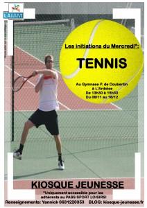 initiation du mercredi tennis