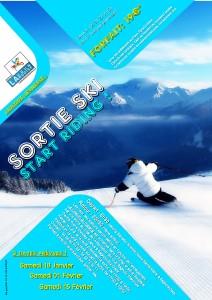 sortie ski KJ 3 dates
