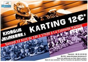 kiosque jeunesse karting